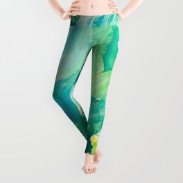 Environmental Importance, Deep Sea Water Bubbles Leggings