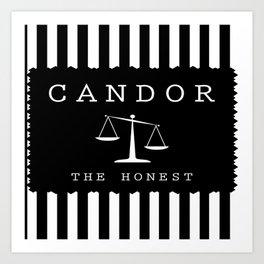 CANDOR - DIVERGENT Art Print