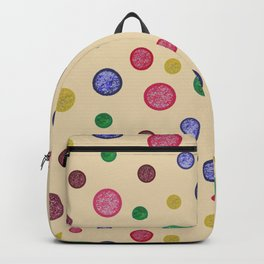 Coloured Dots Backpack