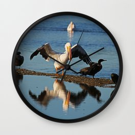 A Difficult Conversation Wall Clock