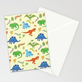 Dinosaur Pattern Stationery Cards