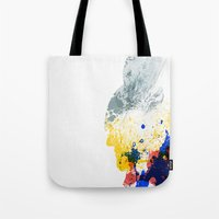 nordic Tote Bags featuring Nordic Star by Arian Noveir