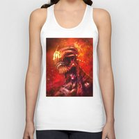 mars Tank Tops featuring Mars by Vincent Vernacatola