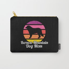 Bernese Mountain Dog Mom I Retro Bernese Mountain Carry-All Pouch