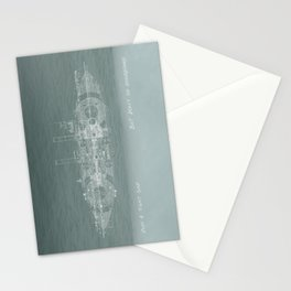 Run a Tight Ship Stationery Cards