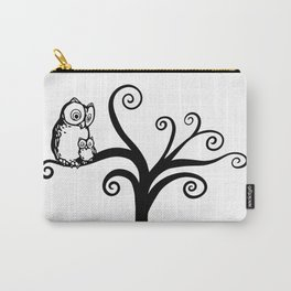 Tree Owls Carry-All Pouch