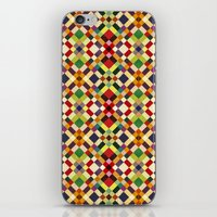 pixel iPhone & iPod Skins featuring Pixel by Goncalo Viana
