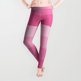 Four Shades of Pink Leggings
