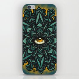 Mandala Eye - Color Variant 1 iPhone Skin