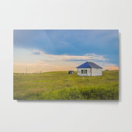 Palmgren Township School, North Dakota 6 Metal Print