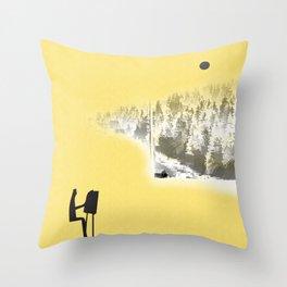 Painter Throw Pillow