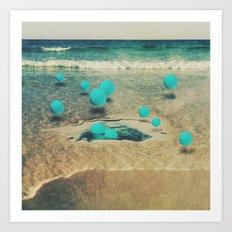 sea berries Art Print