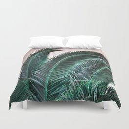 Palm Tree Leaves Duvet Cover