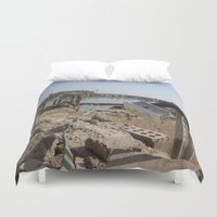 power Duvet Covers featuring Power by KMZphoto