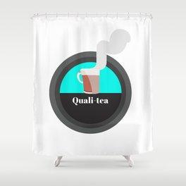 Quali-tea Shower Curtain