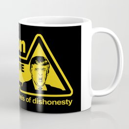 Caution - Trump Lies Coffee Mug
