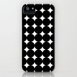 Midcentury Circles and Diamonds 16 iPhone Case