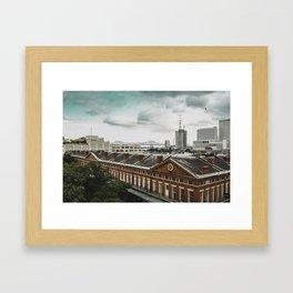 Overlooking the Big Easy Framed Art Print