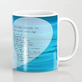Upon Love's Ocean Coffee Mug