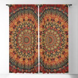 Mandala 563 Blackout Curtain
