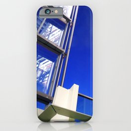 Blue Night Abstract iPhone Case