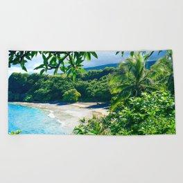 Hamoa Beach Hana Maui Hawaii Beach Towel