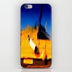 Smeared Boat iPhone & iPod Skin