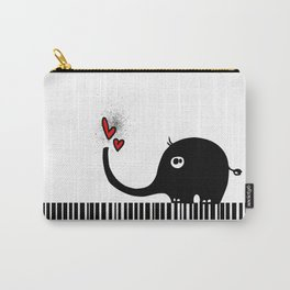 Little Elephant With Big Love... Carry-All Pouch