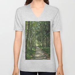 walk in the bog Unisex V-Neck