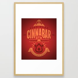 Cinnabar Gym Framed Art Print