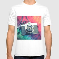 Diana F+ White SMALL Mens Fitted Tee