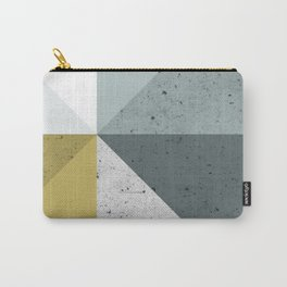 Modern Geometric 16 Carry-All Pouch