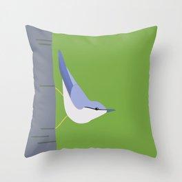 Tree Creeper  Throw Pillow