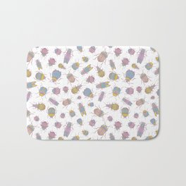 Candy Bugs Bath Mat