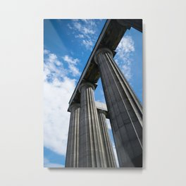 The National Monument, Calton Hill Metal Print