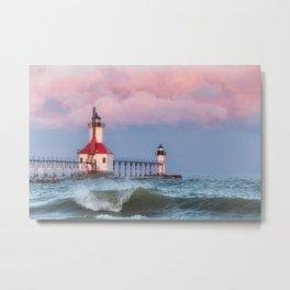 St. Joseph Michigan Lighthouse 01 Metal Print