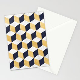 Marble Covered Gold Stationery Cards