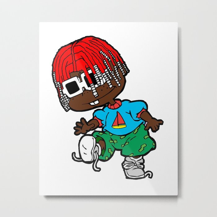 Lil Yachtry Rugrats Metal Print