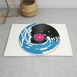 Vinyl Wave Rug