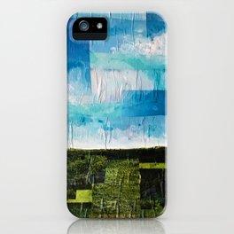 Imaginary Landscapes: Hello, Tomorrow iPhone Case