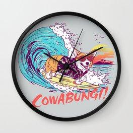 Cowabungi! Wall Clock