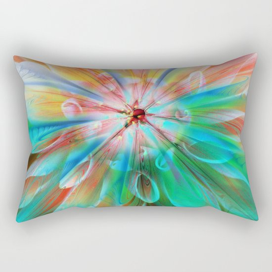 A Little More Summer Rectangular Pillow