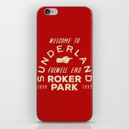 Roker Park Football Ground iPhone Skin