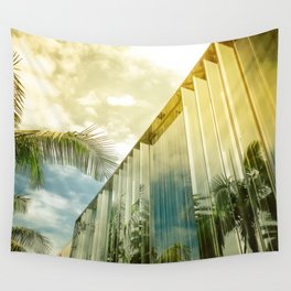 Beverly Hills - Palm Reflections II Wall Tapestry