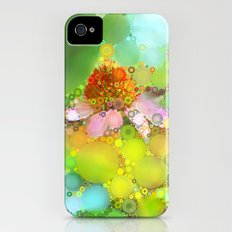 Pink Flower of Summer Slim Case iPhone (4, 4s)