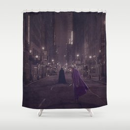 Dark Nights Shower Curtain