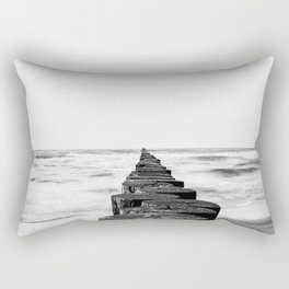 Winter sea Rectangular Pillow
