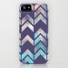 Chevron Dream 2 (Plum) iPhone (5, 5s) Slim Case