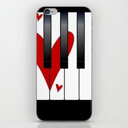 Love Piano iPhone Skin