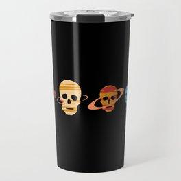 Skull Planets Travel Mug
